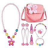 Mädchen-Handtasche,Comius Sharp Kinderschmuck Kleine Mädchen Plüsch-Handtasche, mit...