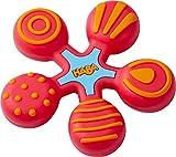 HABA 304290 - Greifling Stern rot, Baby- und Kleinkindspielzeug aus Kunststoff, hilft...