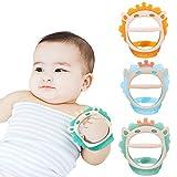 Baby Beißspielzeug für 0-6 und 6-12 Monate Beißringe 3er Pack für Kleinkinder,...