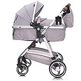 Lalalux Babyboomer leichter Kombikinderwagen Komplettset, Multifunktions-Kinderwagen,...