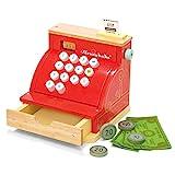 Le Toy Van – Honeybake Rollenspiel Kasse aus Holz mit Kassenbeleg, Kassenschublade und...