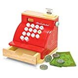 Le Toy Van Kreditkartenlesegerät-Holzspielzeug, mit Lesegerät, Rot