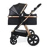 Pixini Kinderwagen (Arizona 2in1 inkl. Babywanne & Buggy - Alu-Rahmen - mit Zubehörpaket...