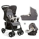 Hauck Shopper SLX Trio Set 3 in 1 Kinderwagen bis 25 kg + Babyschale + Babywanne mit...