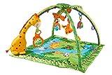 Fisher-Price K4562 - Rainforest Erlebnisdecke, Baby Krabbeldecke mit Spielzeug, Musik,...