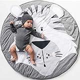 Baby Krabbeldecke, Spiel Matten Baumwolle, faltbare baby bodenmatte, Spielmatte Baby...