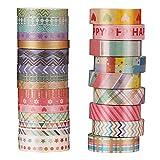 O-Kinee Washi Tape, Geschenk Klebeband, Washi Tape Set, Dekorative Klebeband Breit,...