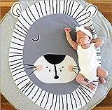 Queta Krabbeldecke Kuscheldecke aus Baumwolle Weiche Schlafteppich Cartoon Baby Spielmatte...