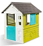 Smoby 810710 Pretty Spielhaus, Kinderspielhaus für Indoor und Outdoor, Gartenhaus für...