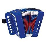 Bino Akkordeon, Spielzeug für Kinder ab 3 Jahre, Kinderspielzeug (Kinder Musikinstrument...