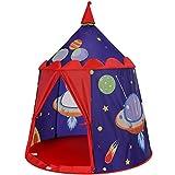 SONGMICS Spielzelt, Prinzenschloss Zelt für Jungs Kleinkinder, Spielhaus für innen und...