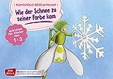 Wie der Schnee zu seiner Farbe kam. Kamishibai Bildkartenset.: Märchen für Kinder von...