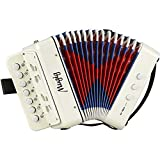 Mugig Akkordeon Ziehharmonika Solo und Tasteninstrument Harmonika für Anfänger...