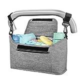Yoofoss Kinderwagen Organizer Kinderwagentasche Multifunktionale und Praktische...
