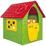 Dohany Spielhaus Kinderspielhaus Gartenhaus Indoor Outdoor +2J (grün rot)