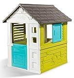 Smoby 810710 – Pretty Haus - Spielhaus für Kinder für drinnen und draußen,...