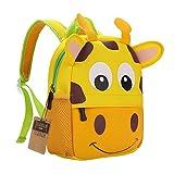 TEAMEN Kinderrucksack Animal Schule Tasche Rucksack for Kinder Baby Jungen Mädchen...