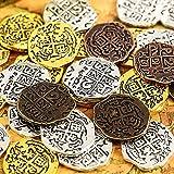35 Stücke Metall Piraten Münzen Spanische Doubloon Repliken Piraten Schatz Münze...