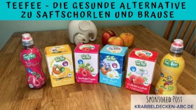 TeeFee Kindergetränke ohne Zucker Sortiment