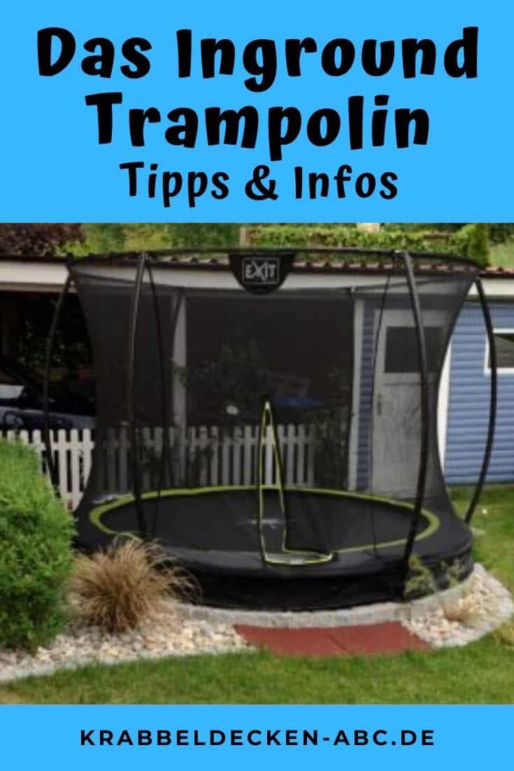 Das Inground Trampolin
