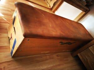 DIY Sitzruhe aus Sprungkasten bauen