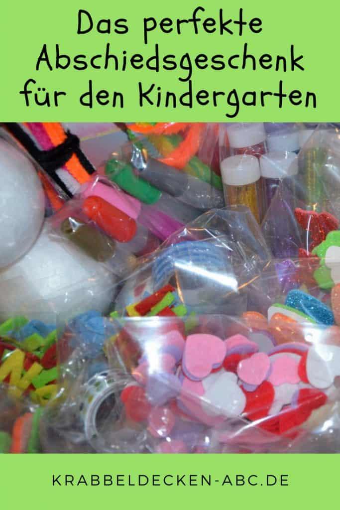 Abschiedsgeschenk für den Kindergarten Pinterest