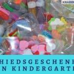 Abschiedsgeschenk für den Kindergarten oder die Krippe