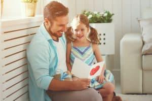 Eltern-kind-beziehung mit Vater