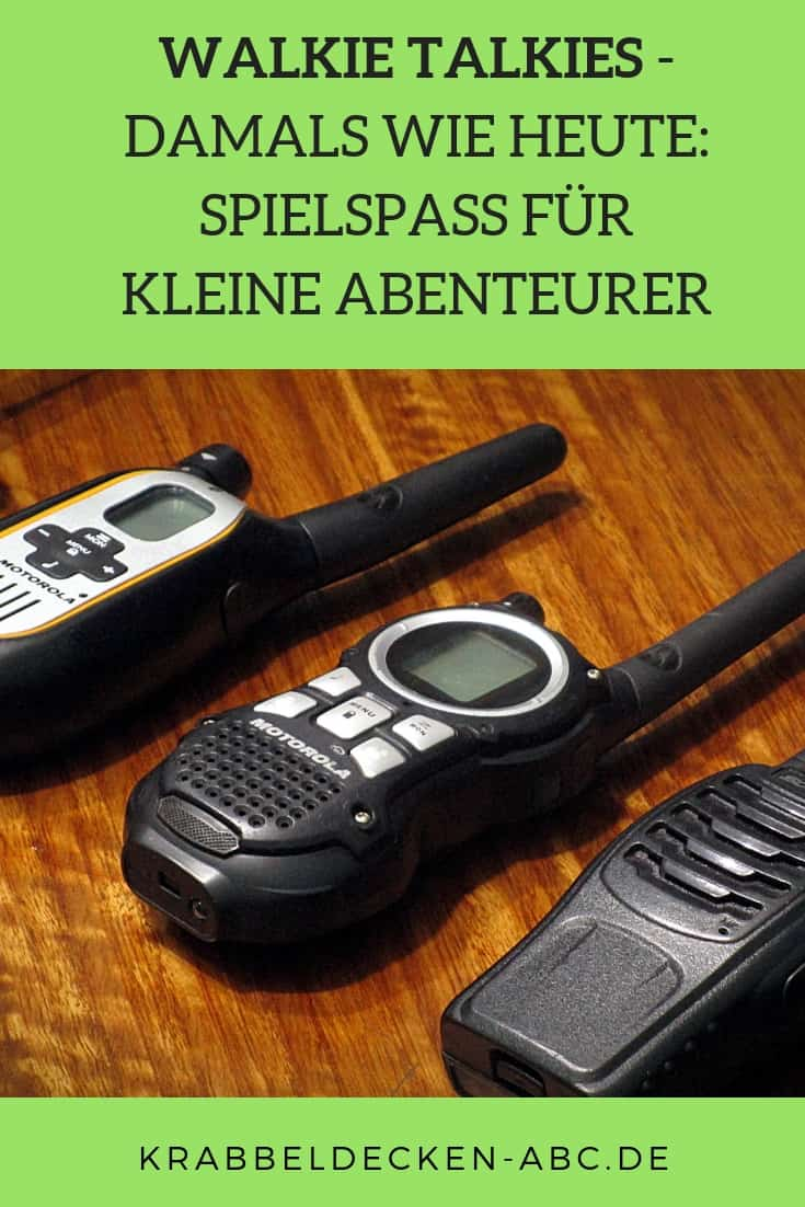 walkie talkie pinterest