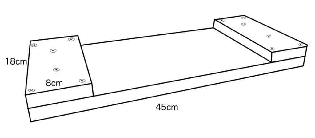 DIY Zeichnung Schaukelbrett selber bauen