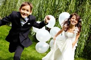 Die perfekte Hochzeitsfeier mit Kindern