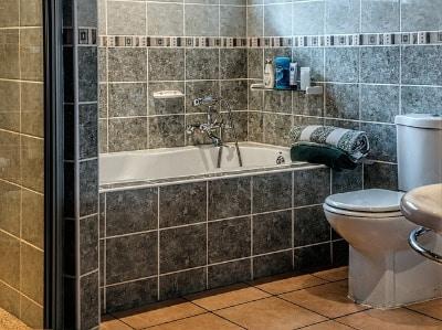 Auch die Dusche und Badewanne lassen sich mithilfe eines einfachen Badreinigers hygienisch sauber machen