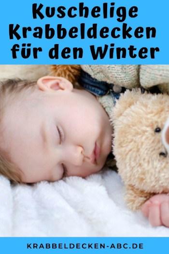 Kuschelige Krabbeldecke für den Winter Pinterest