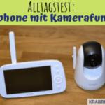 Alltagstest: Babyphone mit Kamerafunktion