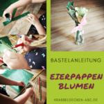 Eierpappenblumen – Die kleine Bastelecke