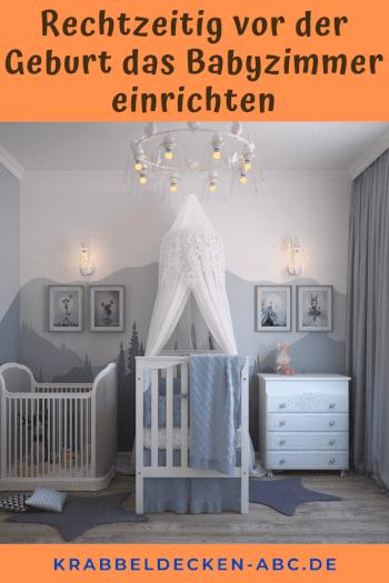 Rechtzeitig vor der Geburt das Babyzimmer einrichten pinterest
