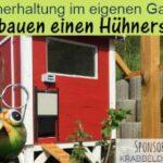 Hühnerhaltung im eigenen Garten – Wir bauen einen Hühnerstall