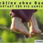 Slackline ohne Baum: Trendsportart für die ganze Familie