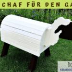 Holzschaf selber bauen –Holzpferd-Alternative für kleine Kinder