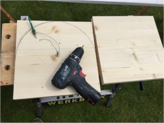 Holzschaf selber bauen Korpus
