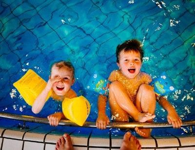 Schwimmen Hobby für Kinder
