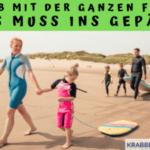 Urlaub mit der ganzen Familie – was muss ins Gepäck?