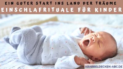 Ein guter Start ins Land der Träume Einschlafrituale für Kinder