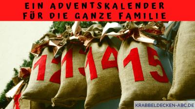 Ein Adventskalender für die ganze Familie