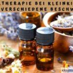 Die Aromatherapie bei Kleinkindern gegen verschiedene Beschwerden
