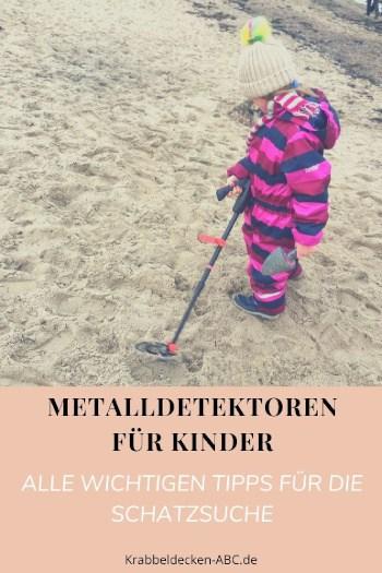 Metalldetektor für Kinder Alle wichtigen Tipps für die Schatzsuche