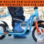 Warum ein Roller den Gleichgewichtssinn besser trainiert als ein Laufrad