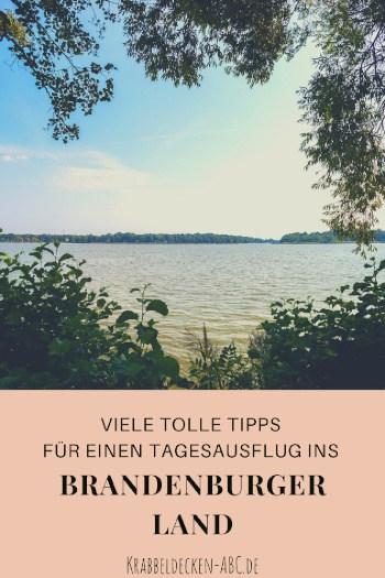 viele tolle Tipps für einen Tagesausflug ins Brandenburger Land Pinterest