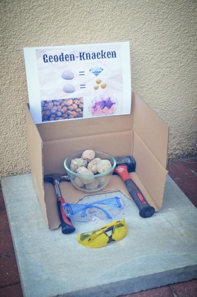 Geodenknacken am Kindergeburtstag kl