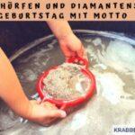 """""""Goldschürfen und Diamantensuche"""" – Kindergeburtstag mit Motto planen"""